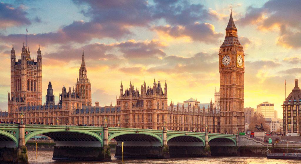 El big ben y el parlamento britanico