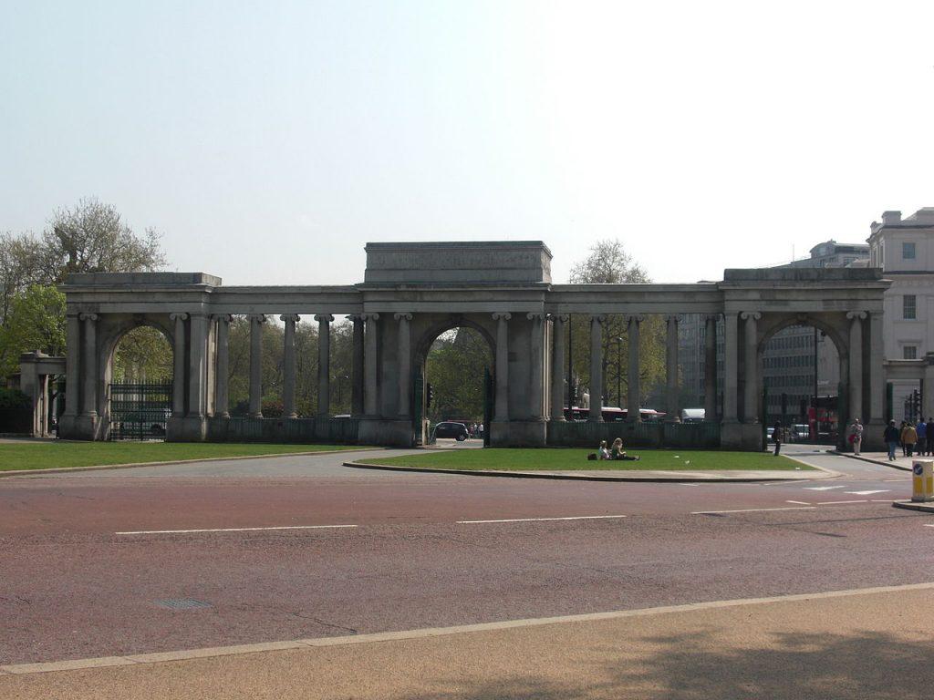 Entrada a Hyde Park