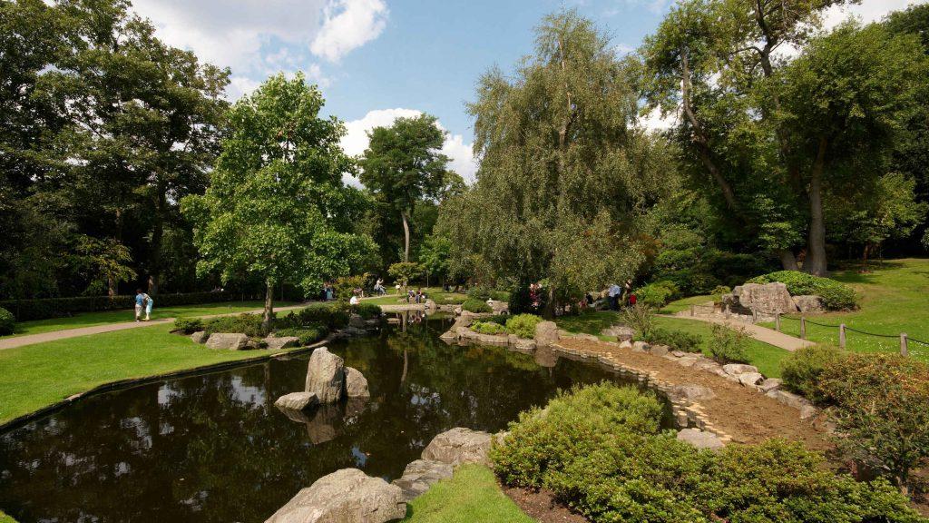 El precioso parque de Holland Park