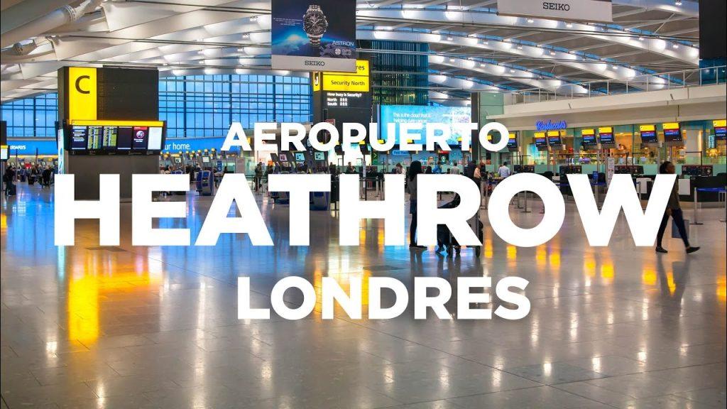 Aereopuerto de Heathrow, como llegar