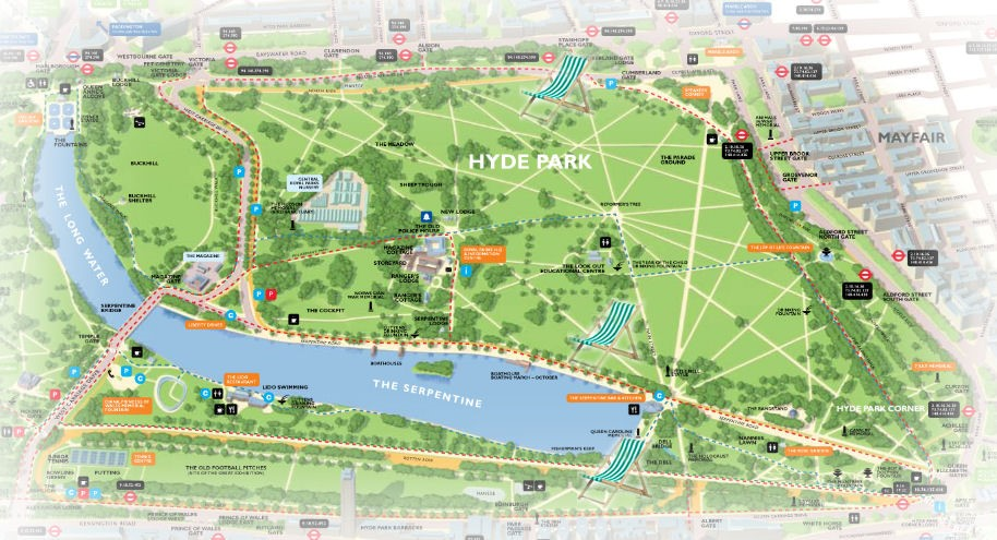 Plano de Hyde Park