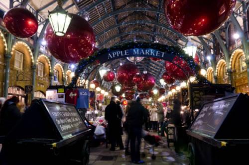 Las navidades en Covent Garden