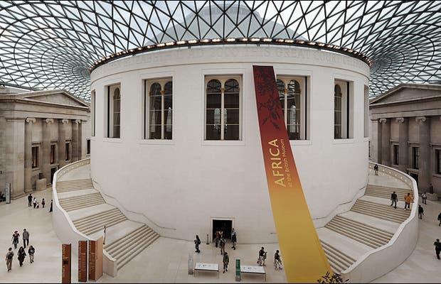 El museo britanico, uno de las grandes joyas de Londres y representacion de el arte del mundo atesorado por los britanicos en cientos de años de imperio