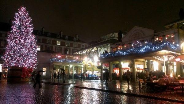 Las Navidades en Covent Garden, desde la primera semana de Noviembre, nunca otras navidades serán iguales