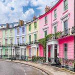 Casas Victorianas coloridas, ambiente bohemio y de clase alta, mercadillos y carnaval... todo esta en Notting Hill